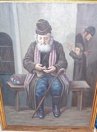 16: Oil on canvas signed lower right R. Szewizen?? depi