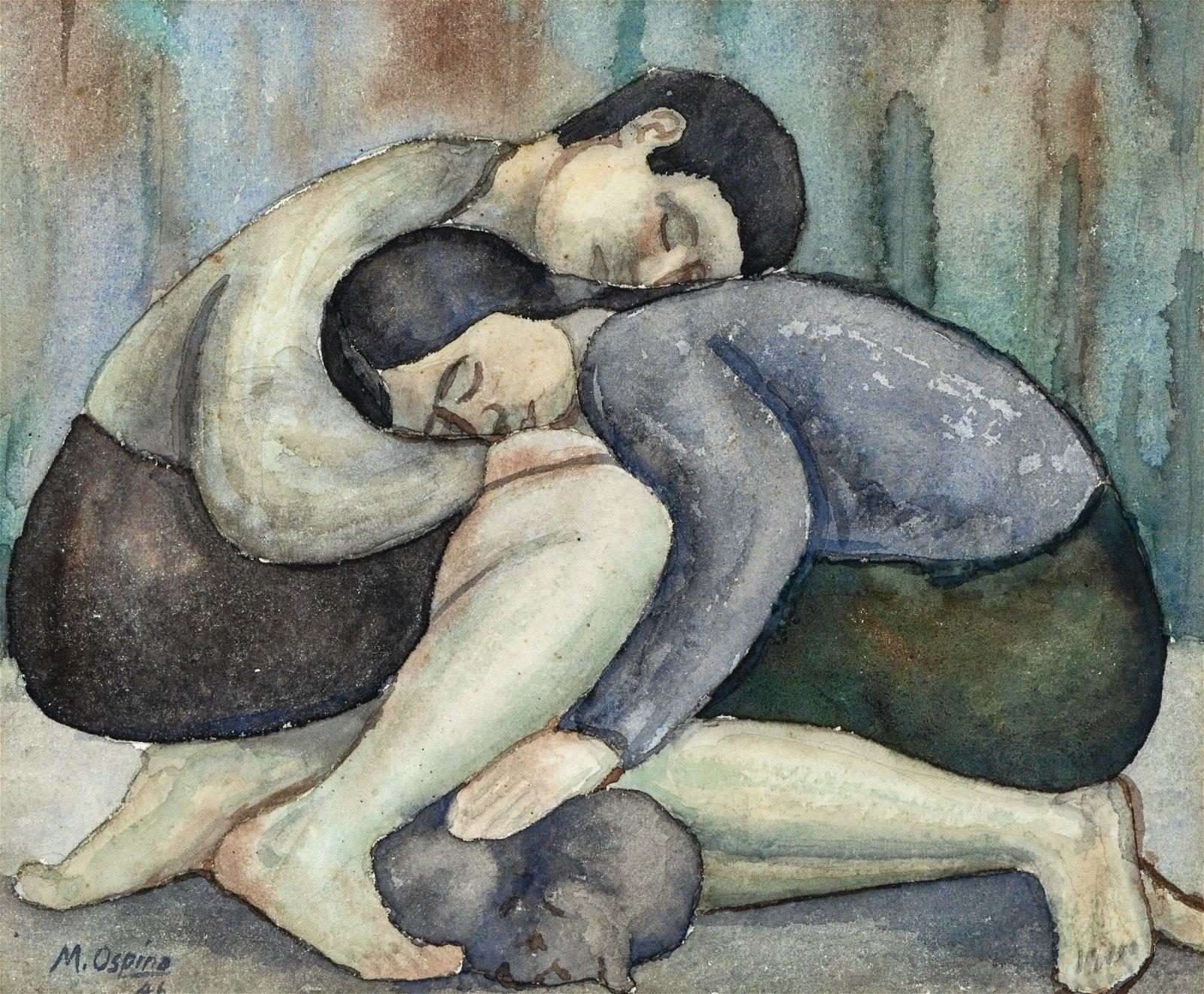 Ospina Marco, [Sueño], 1946
