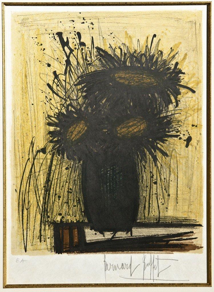 Les Tournesols by Bernard Buffet (1928-1999)