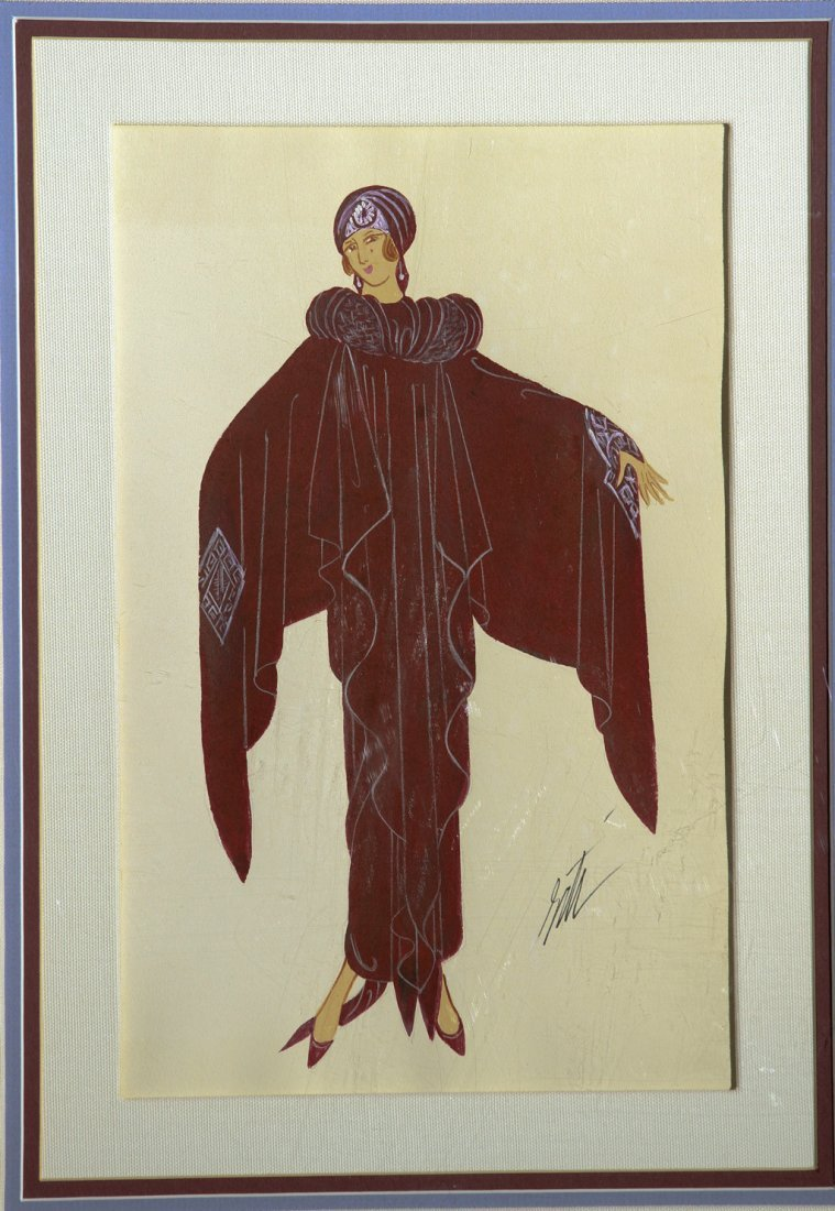 Octavia by Erte 1892 - 1990 (Romain de Tirtoff)