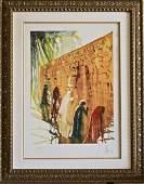 The Wailing Wall by Salvador Dali