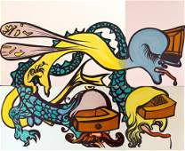 Salvador Dali Art - Puzzle of Life