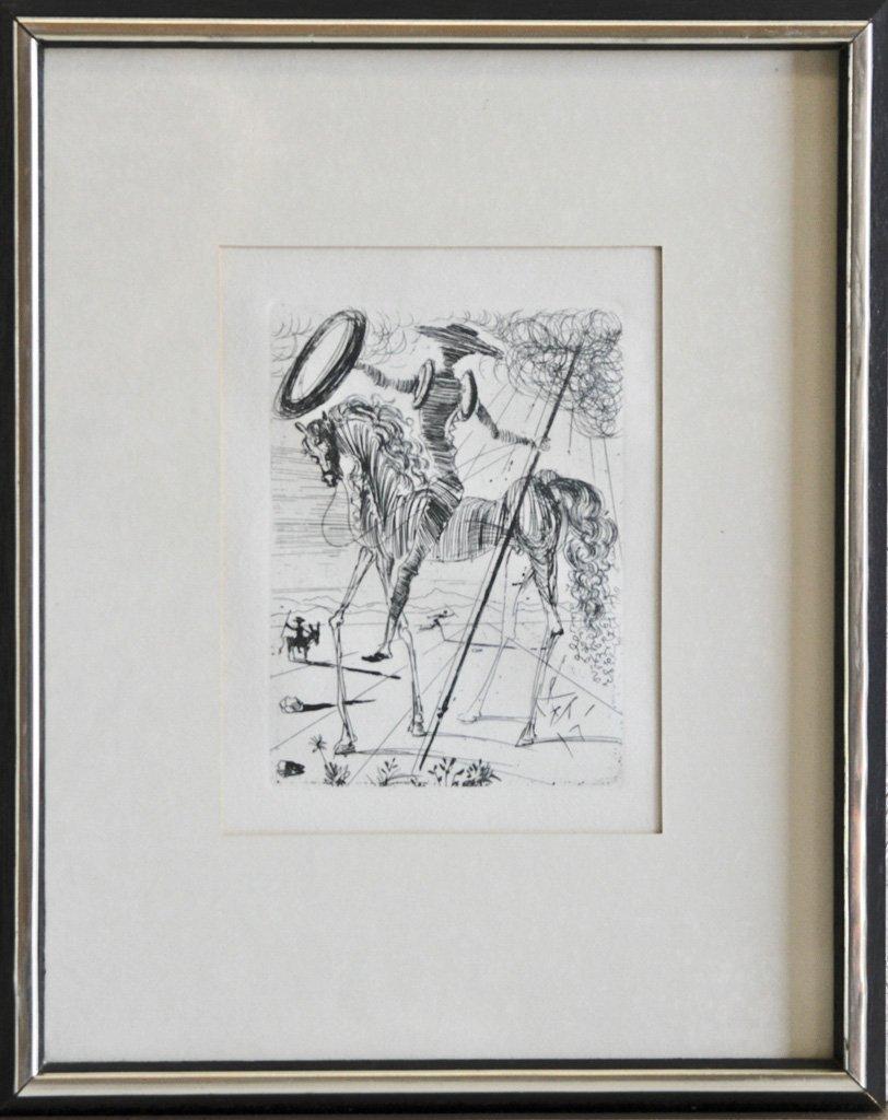 Don Quixote by Salvador Dali