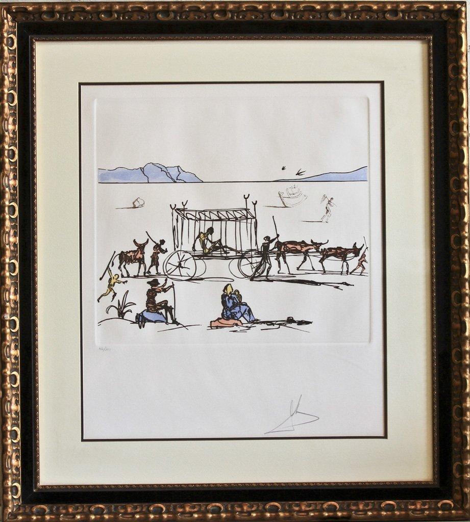 Judgment by Salvador Dali