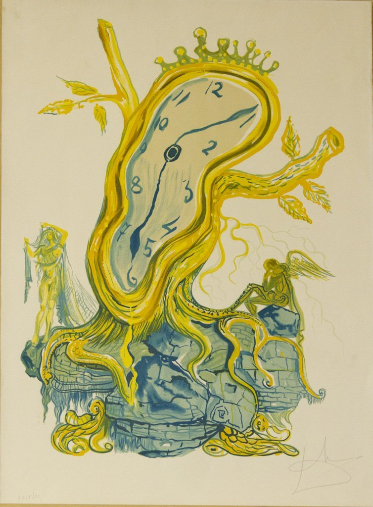 Salvador Dali Art - Stillness in Time