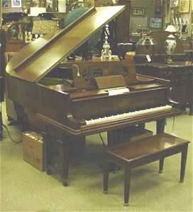 207: WALNUT CASED STEINWAY PIANOLA PLAYER MODEL PIANO