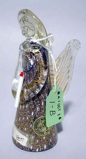 1B: MURANO GLASS FIGURE OF AN ANGEL