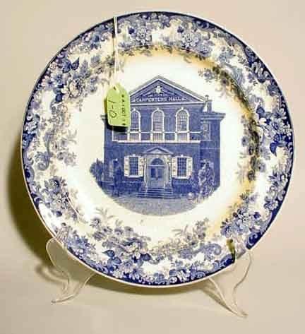 1O: STAFFORDSHIRE BLUE AND WHITE TRANSFERWARE HISTORICA