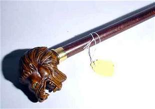DECORATED COMPOSITION LION FIGURED HANDLE ON TAP