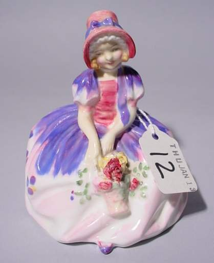 12: ROYAL DOULTON FIGURE, HN# 1467, ''Monica'', depicti