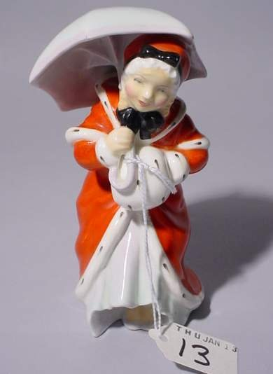 13: ROYAL DOULTON FIGURE, HN# 1936, ''Miss Muffet'', de