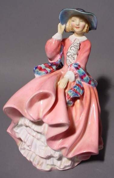 1411A: ROYAL DOULTON FIGURE, ''Top of the Hill'', HN 18