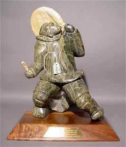 1095A: SALOMONIE JAW (Inuit-Canadian, 20th Century); se
