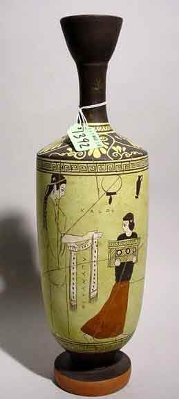 REPLICA OF AN ANCIENT GREEK TERRACOTTA ATTIC VASE