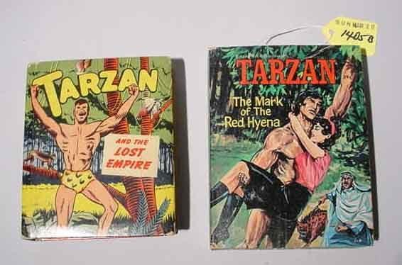 1405B: LOT OF TWO TARZAN ''BIG LITTLE BOOKS'', includin