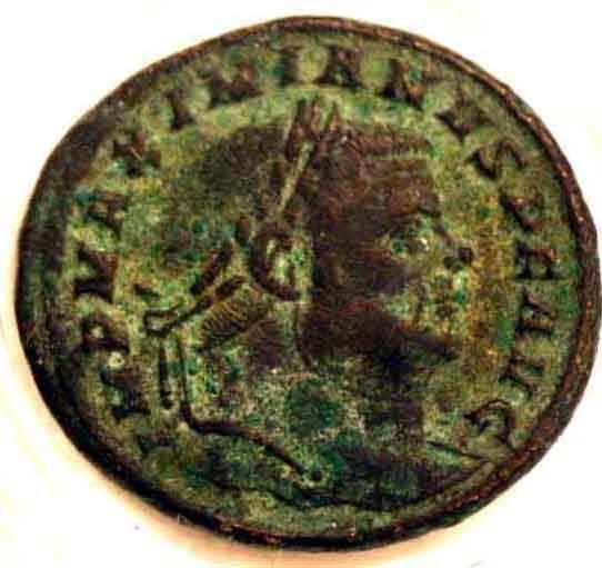 415E: LOT OF 3 IMPERIAL ROMAN BRONZE COINS; con