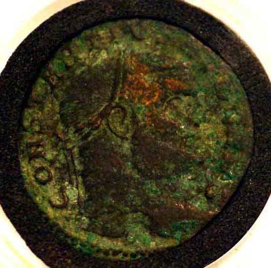 415F: LOT OF 3 ANCIENT IMPERIAL ROMAN BRONZE COINS; con