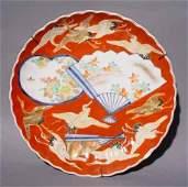 500 4 JAPANESE IMARI PORCELAIN CIRCULAR PLATES 19c
