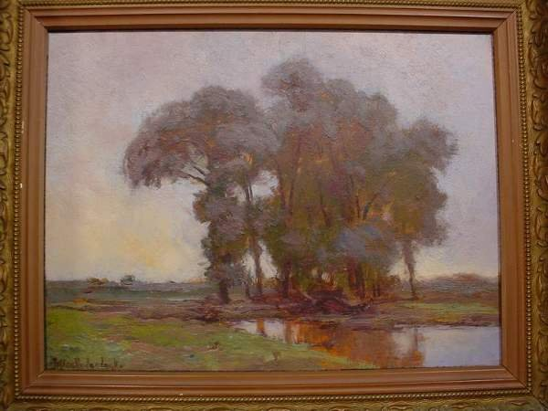 545: JULIAN ONDERDONK (American - Texas, 1882-1922); oi