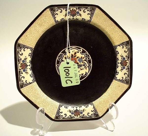 1001C: WEDGWOOD OCTAGONAL DISH, ''Nanette'' pattern, th