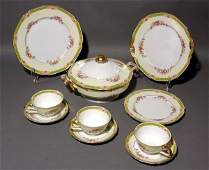 1498 64 PC SET TIRSCHENREUTH DECORATED BAVARIAN CHINA