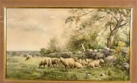137: THOMAS BIGELOW CRAIG (American, 1849-1924); waterc