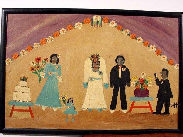 553: CLEMENTINE HUNTER (American-Louisiana, 1887-1988)