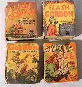 1001V: LOT OF FOUR FLASH GORDON ''BIG LITTLE BOOKS'', a