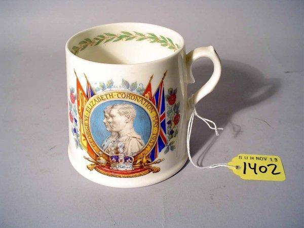 1402: ROYAL DOULTON KING GEORGE VI & ELIZABETH CORONATI