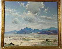 1638: DEDRICK B. STUBER (American, 1878-1954); oil on c