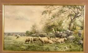 1641: THOMAS BIGELOW CRAIG (American, 1849-1924); water