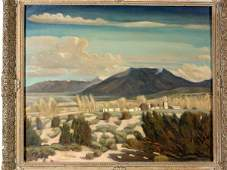 1642: JOSEPH FLECK (Austrian, 1892-1977); oil on canvas