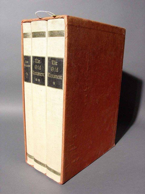 413: THE GUTENBURG BIBLE, N.Y.: Brussel & Brussell, 196