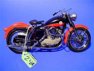 FRANKLIN MINT 1957 HARLEY-DAVIDSON XL SPORTSTER MO