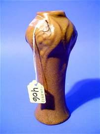 406: ART NOUVEAU ART POTTERY VASE, early 20th century,