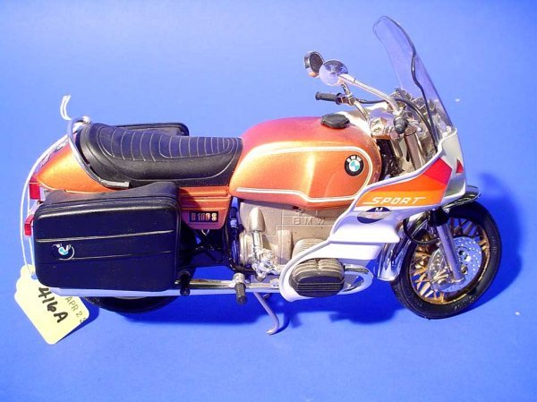 416A: GUILOY BMW R100 S SPORT MOTORCYCLE, 1/10 scale mo