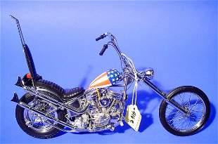 FRANKLIN MINT ''EASY RIDER'' CHOPPER MOTORCYCLE,