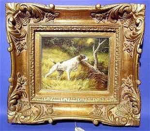 W. AUDRY (European 21st Century) framed oil on ca