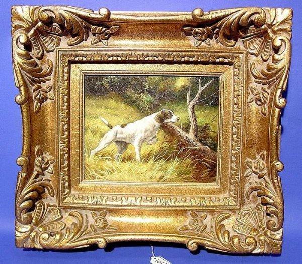 1017: W. AUDRY (European 21st Century) framed oil on ca
