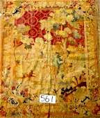 561 GOOD FRENCH HANDKNOTTED WOOL AND SILK TAPESTRY