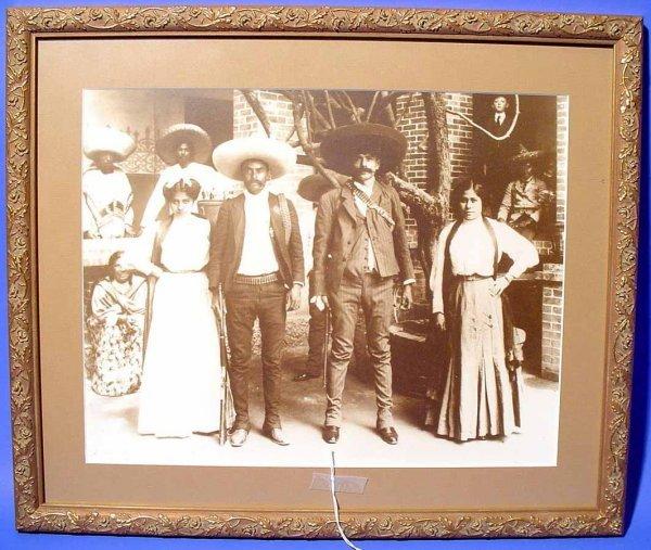 5: AGUSTIN VICTOR CASASOLA (Mexican, 1874-1938); Framed