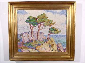 542: BIRGER SANDZEN (American/Swedish, 1871-1954); oil