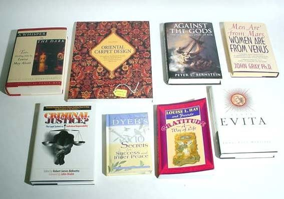 401S: BOX LOT OF MISCELLANEOUS BOOKS