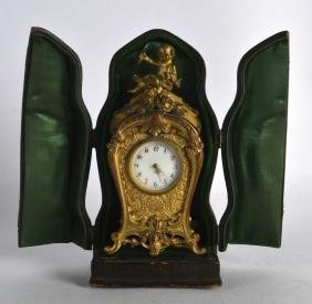 A LOVELY CASED LATE 19TH CENTURY FRENCH BRONZE