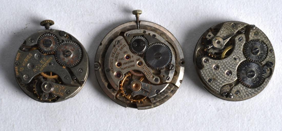 THREE VINTAGE ROLEX WATCH DIALS. (3) - 2