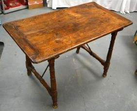 AN 18TH/19TH CENTURY CONTINENTAL FRUITWOOD TABLE. 2Ft