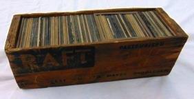 A BOXED QUANTITY OF MAGIC LANTERN SLIDES, of various