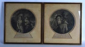 G Watt (1892), Framed watercolour, together with four