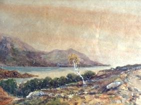 H DAVIS (1928), Framed Watercolour, signed & dated,