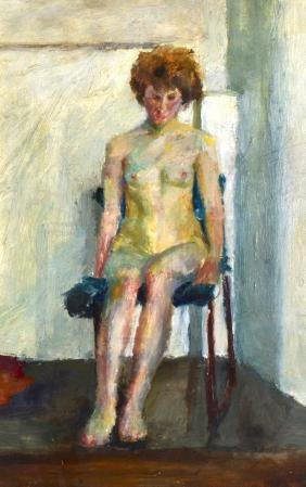 ROSEMARIE CLARE TURNER (1960), A Framed Oil on Board, A